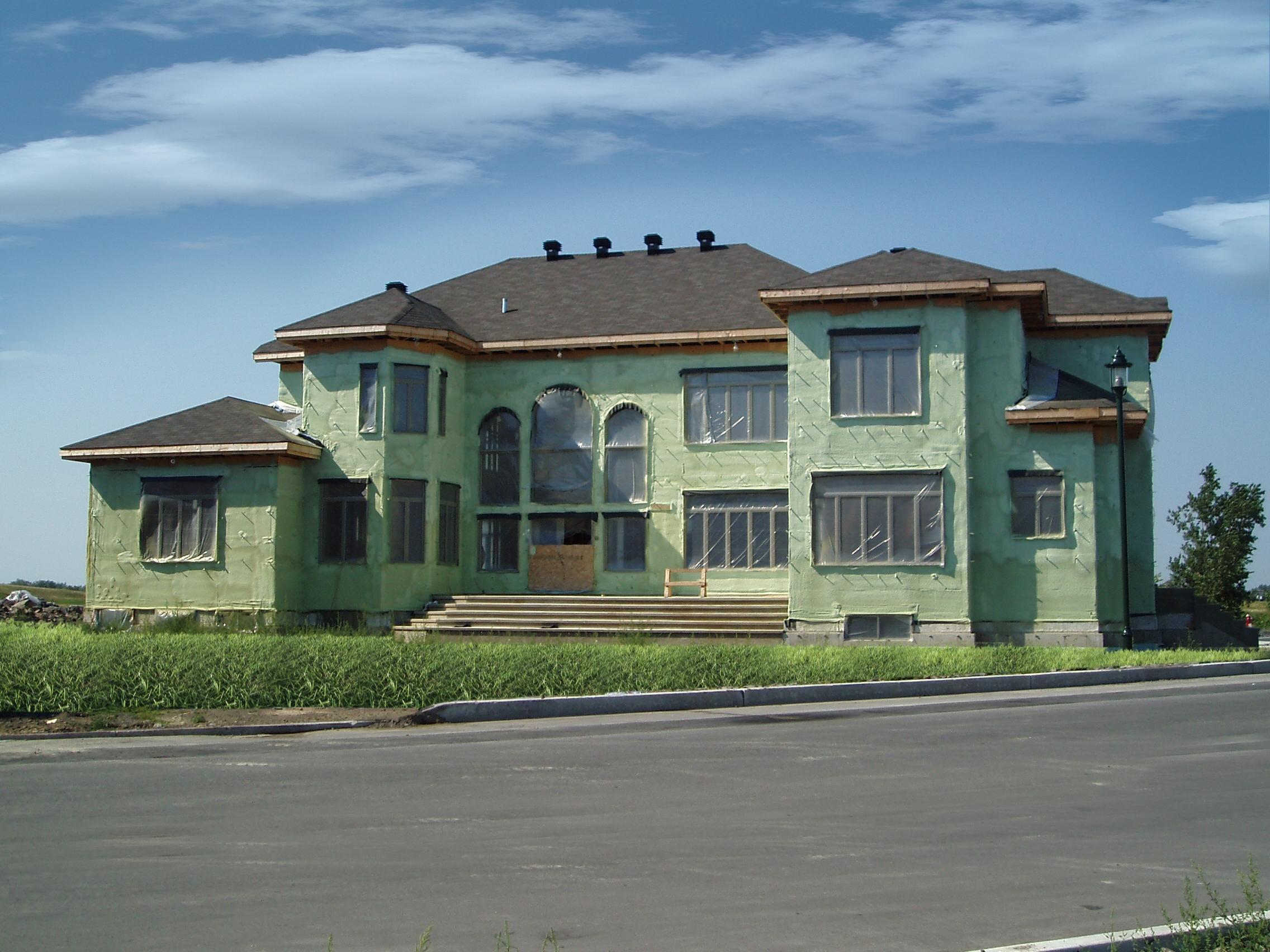 izolacja elewacji budynku