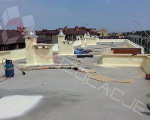 Izolacja / ocieplanie dachów płaskich